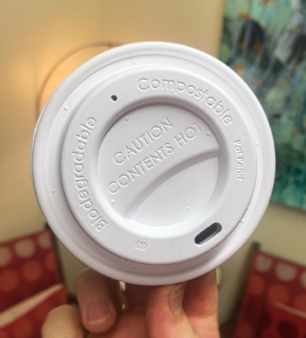 NZ-made compostable coffee lids...  -  We are happy to announce we are now using completely biodegradable takeaway Coffee Cup Lids! There is a common misconception about