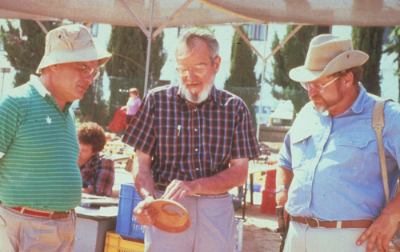 Leon Levy, Frank Moore Cross, and Lawrence E. Stager