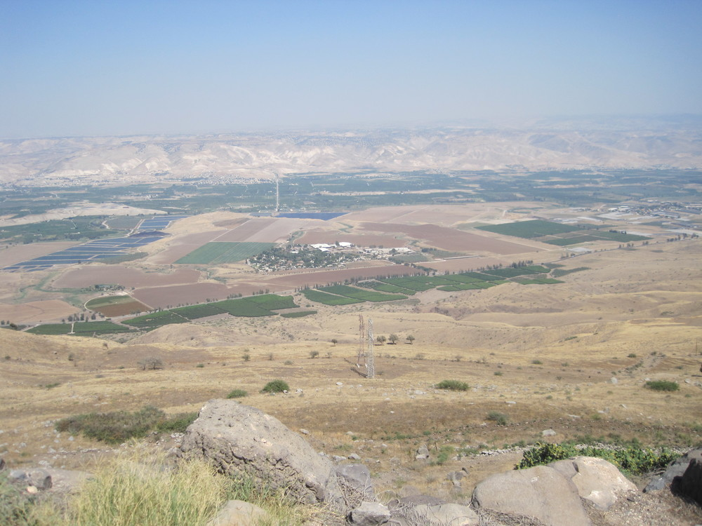View of Jordan from the highest part of the fortress.