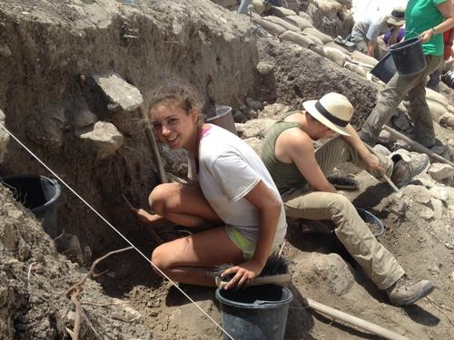 Emily at Megiddo