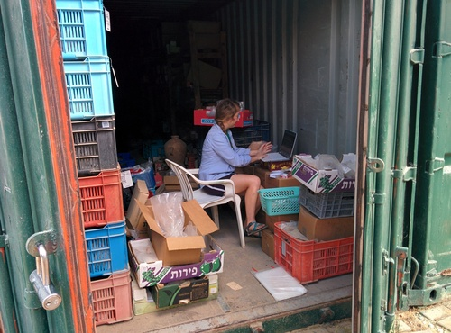 """Office"" in a container"
