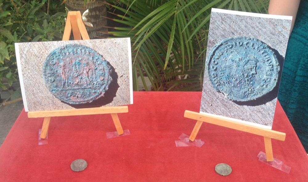 Coins found in Grid 25