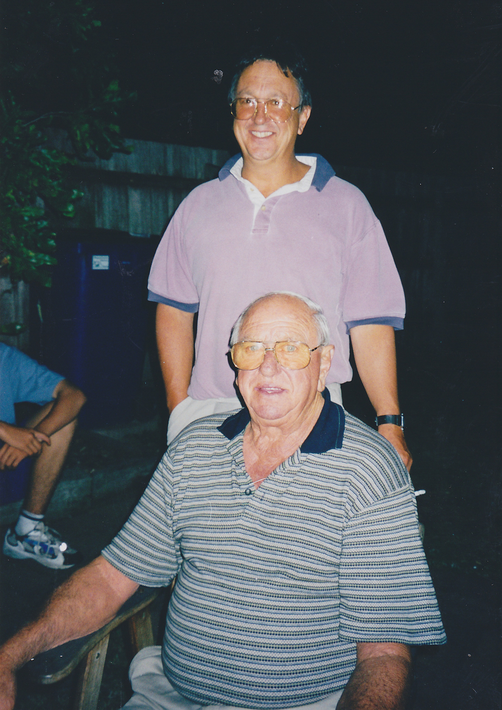 Father and Son, Pakenham, 2000