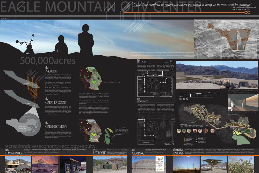The competition entry board completed by Matt Kizu, Sam Jenniches, Kai Craig, Patrick Johnston, and Scott Kleinrock. (click for lightbox view of image)