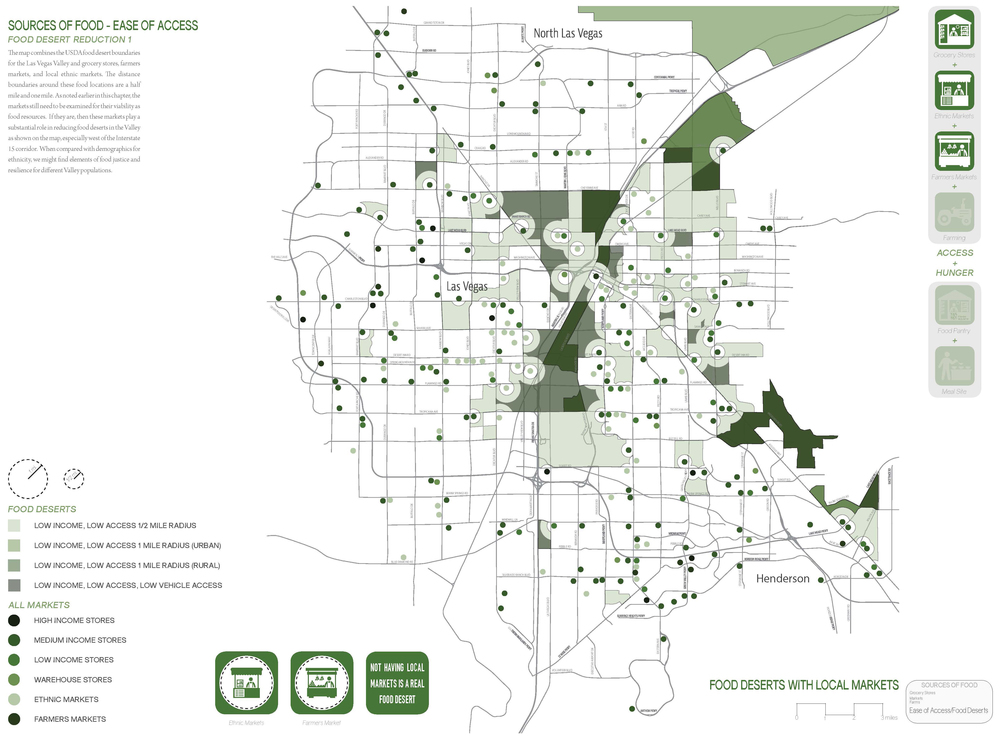 Local and ethnic markets may reduce the food desert range.  (click image for a larger view).
