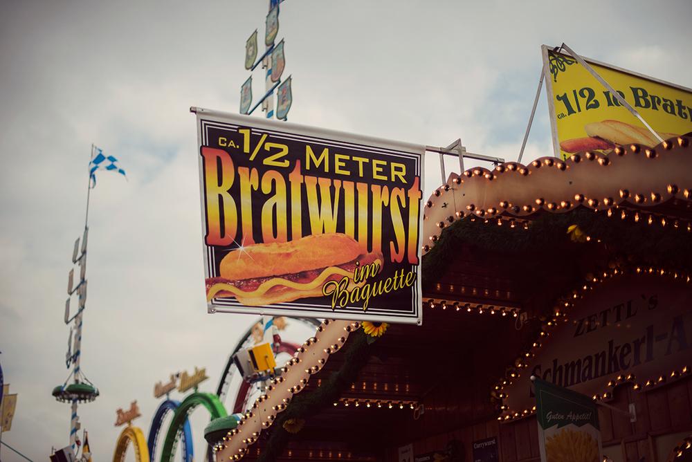 Oktoberfest food stall