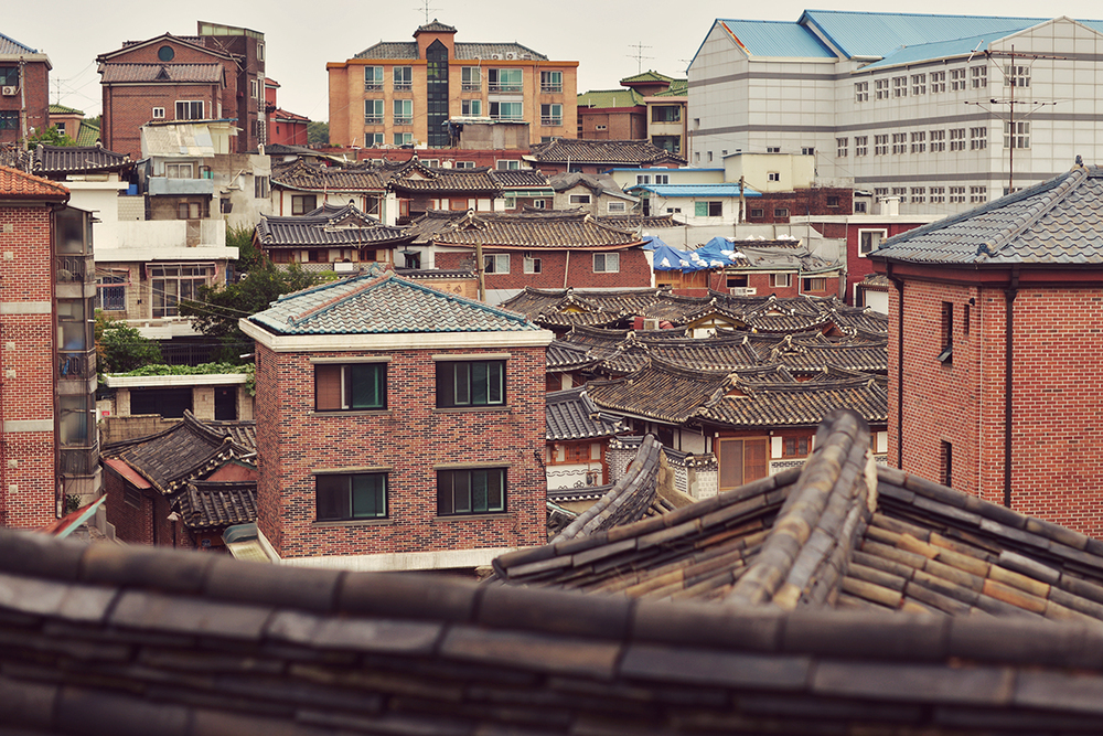 Hanok rooftops