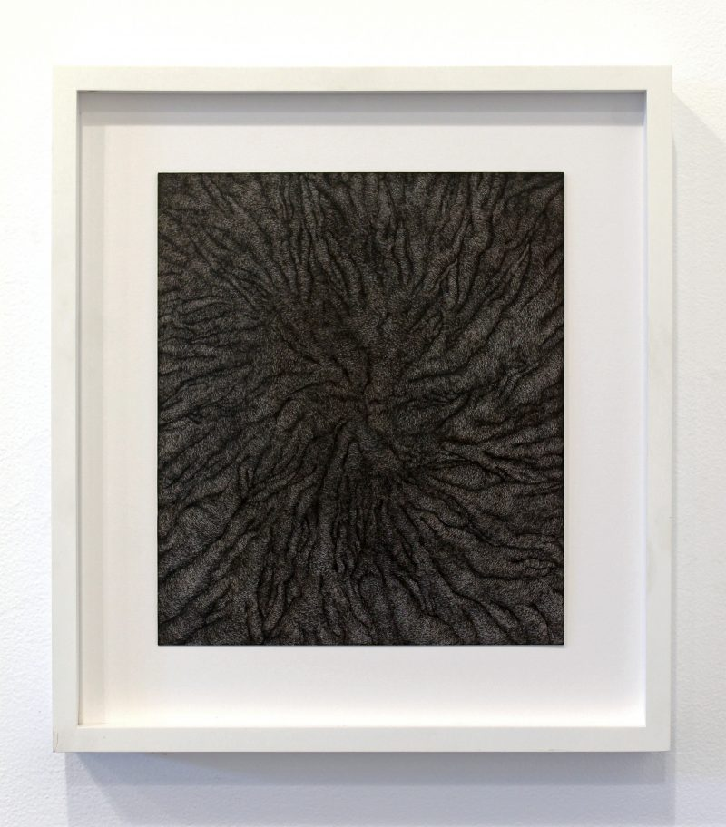 Astrid Bowlby    Untitled (for Grendel and Johnny),  2010 Ink on paper