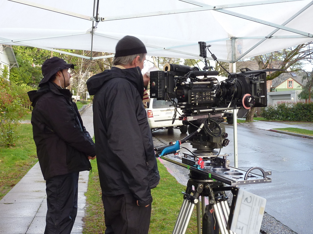 Philip Holahan, our DP, operates the camera.