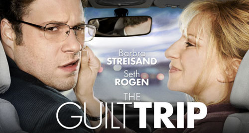 THE GUILT TRIP  Paramount Pictures  main titles