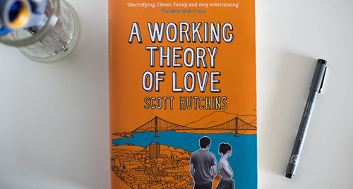 A WORKING THEORY OF LOVE   Penguin Books, UK  cover design & illustration