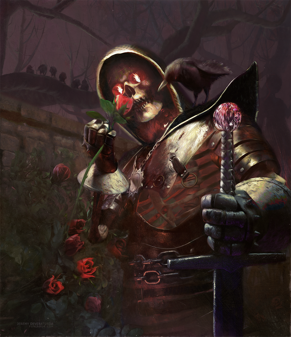 Sir Darkness and His Rose