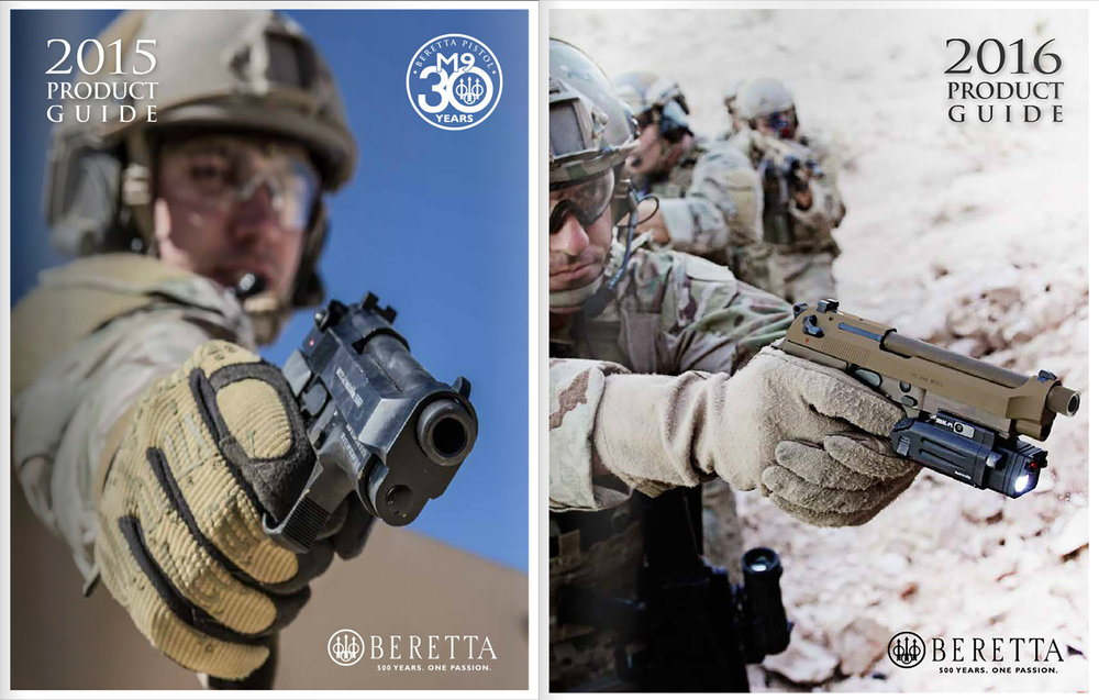 Beretta Product Guide Covers