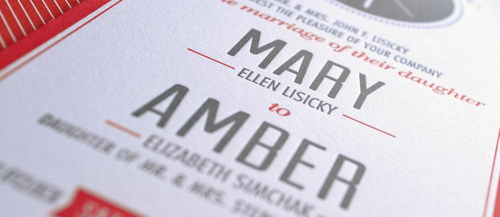 Letterpress Printing by  Fey Printing