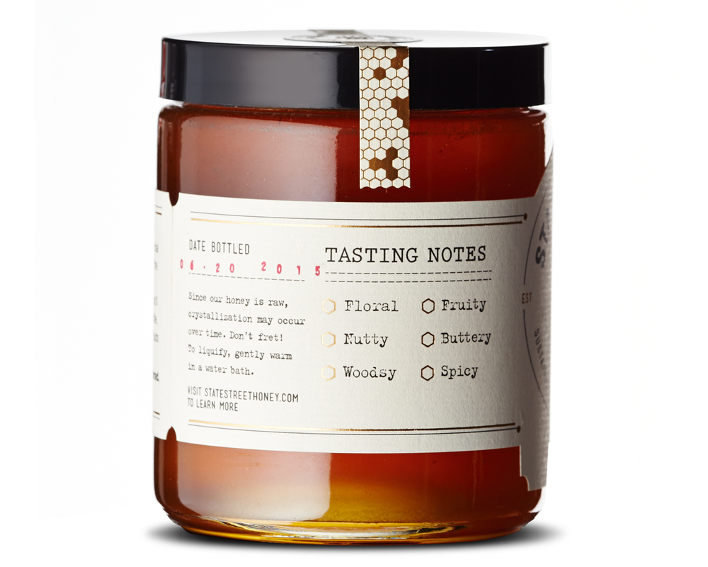 State Street Honey Packaging