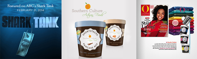 Southern Culture Foods Packaging Featured on ABC's Shark Tank