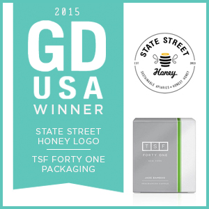 2015 GDUSA Award for Logo Design