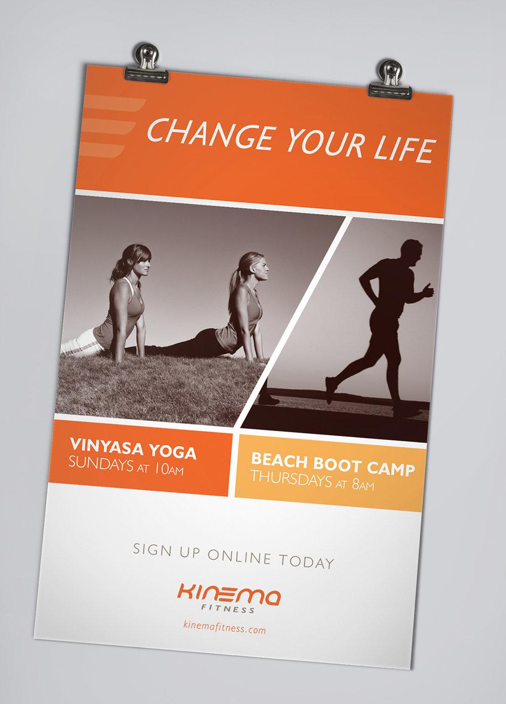 Kinema Fitness Poster