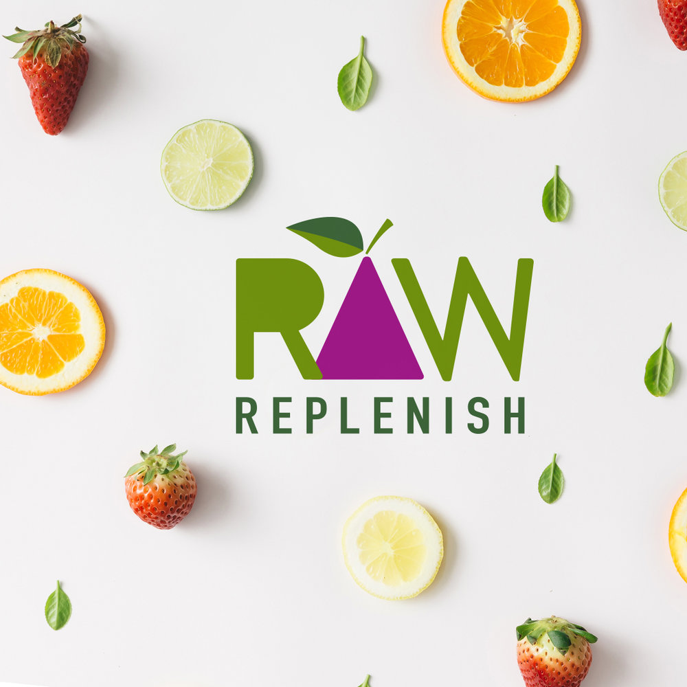 Raw Replenish Logo