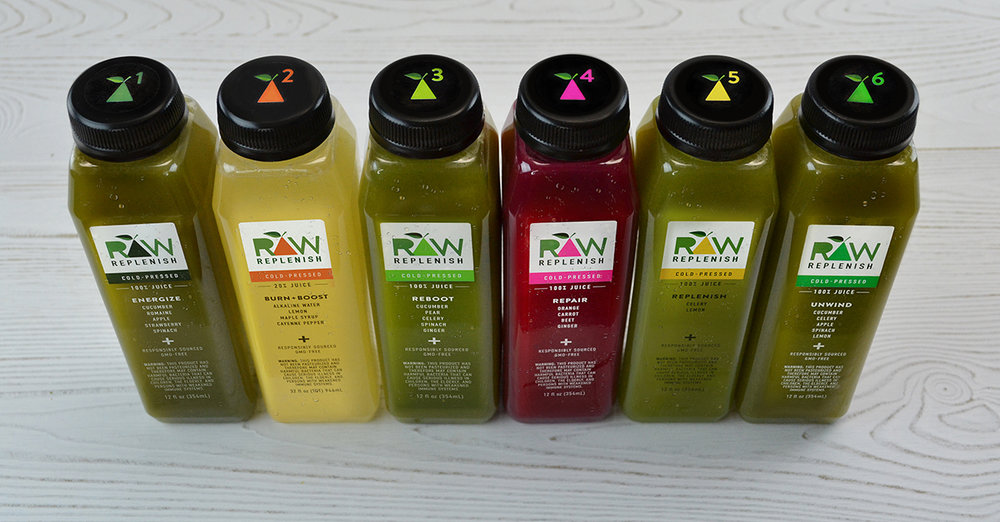 Raw Replenish Juices