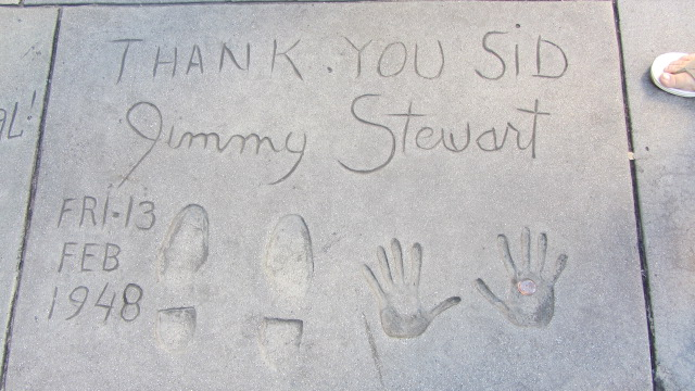 Lila with Jimmy Stewart's Hollywood Square