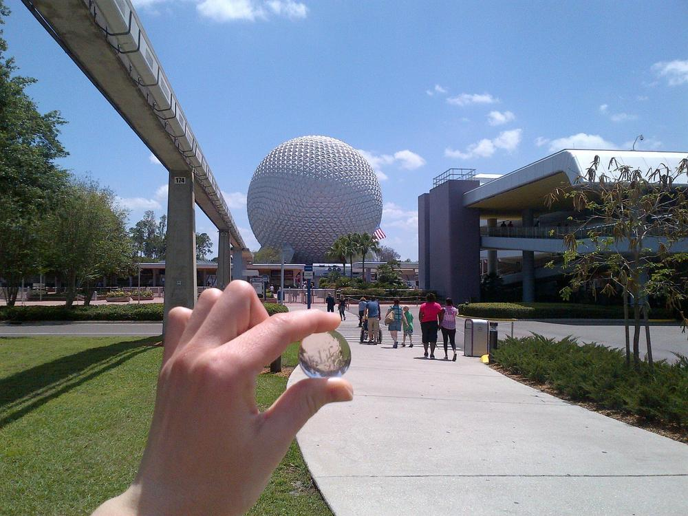 Lila goes to Epcot