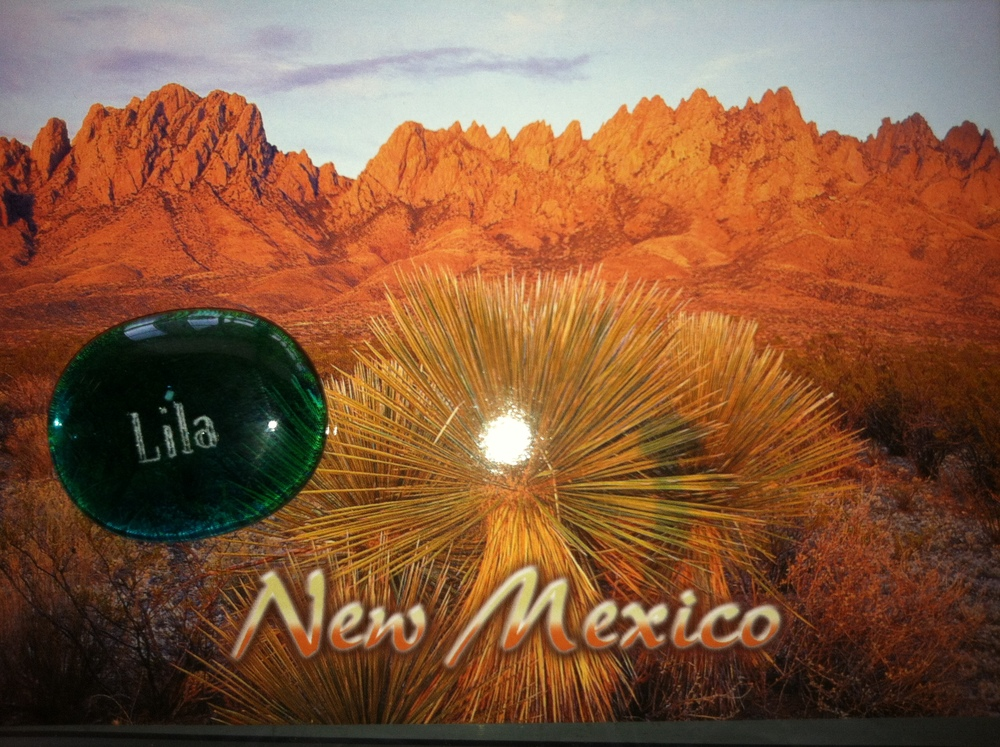 Lila has made it to New Mexico