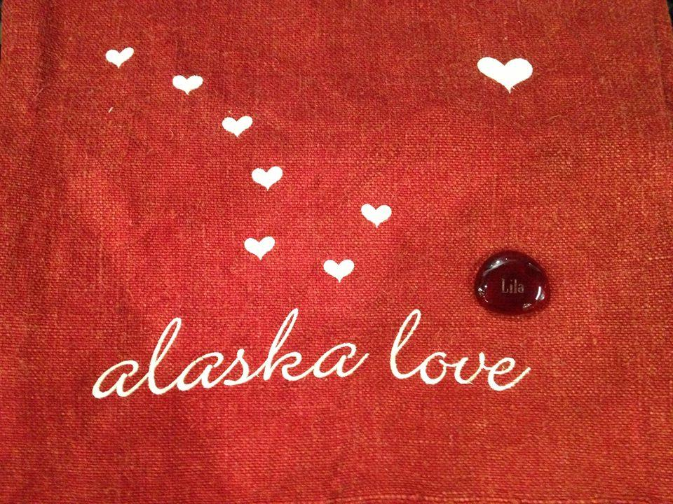 Alaska love with a Lila stone