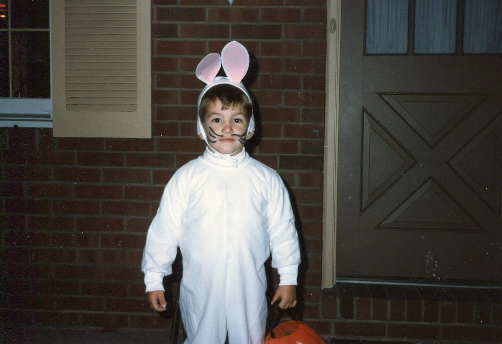 Mike as a bunny