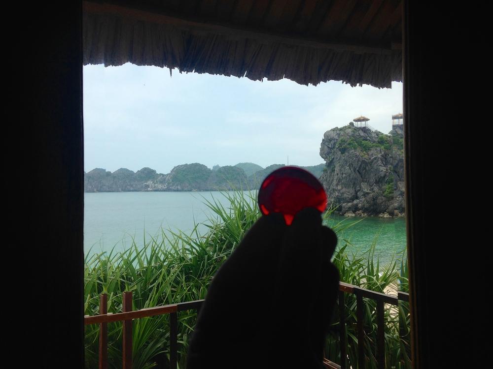 Lila stone in Vietnam