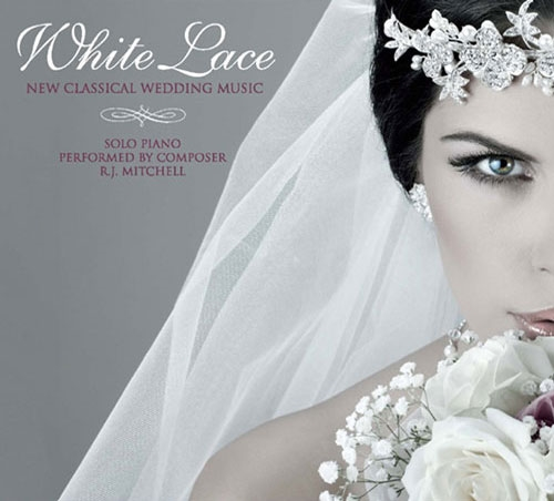 White Lace Piano For Weddings CD