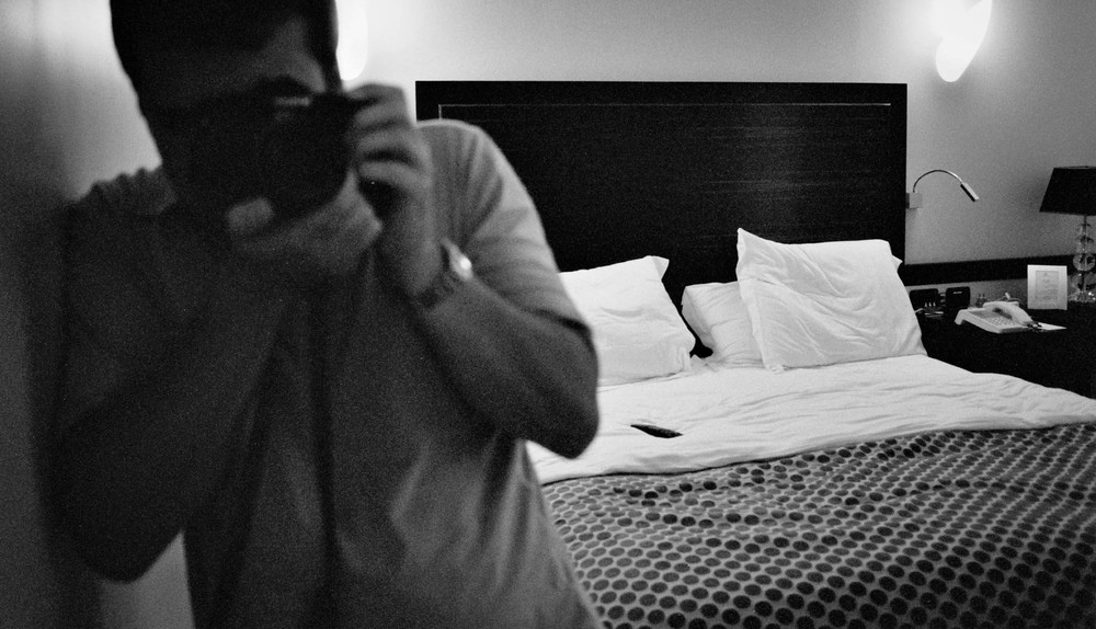 Rome, Hassler Hotel • Nikon FM2 • B&WFilm