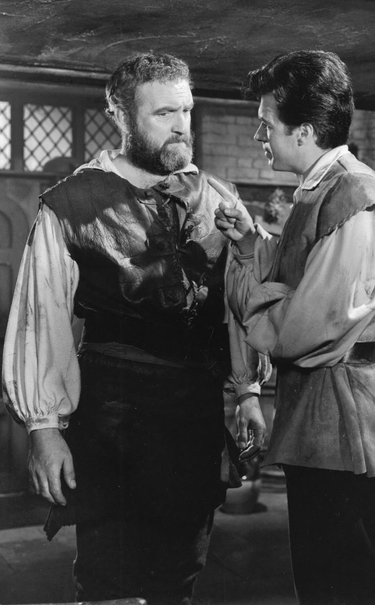04_John Cairney & Nigel Green, the blacksmiths in 'Devilship Pirates'.jpg