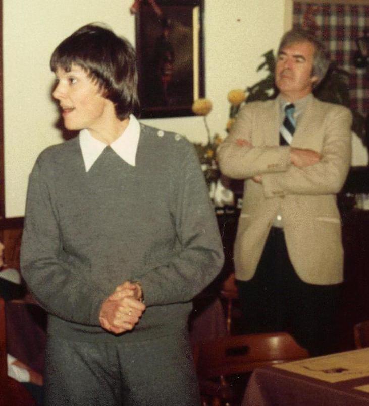 16_John Cairney & Alannah O'Sullivan in Dinner Theatre c1982.jpg