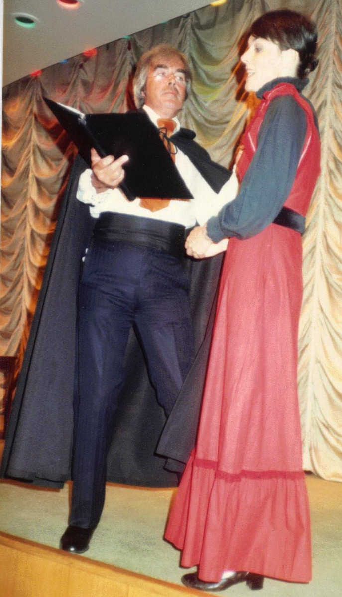 25_John Cairney & Alannah O'Sullivan as 'Theatre At Sea' c1983.jpg