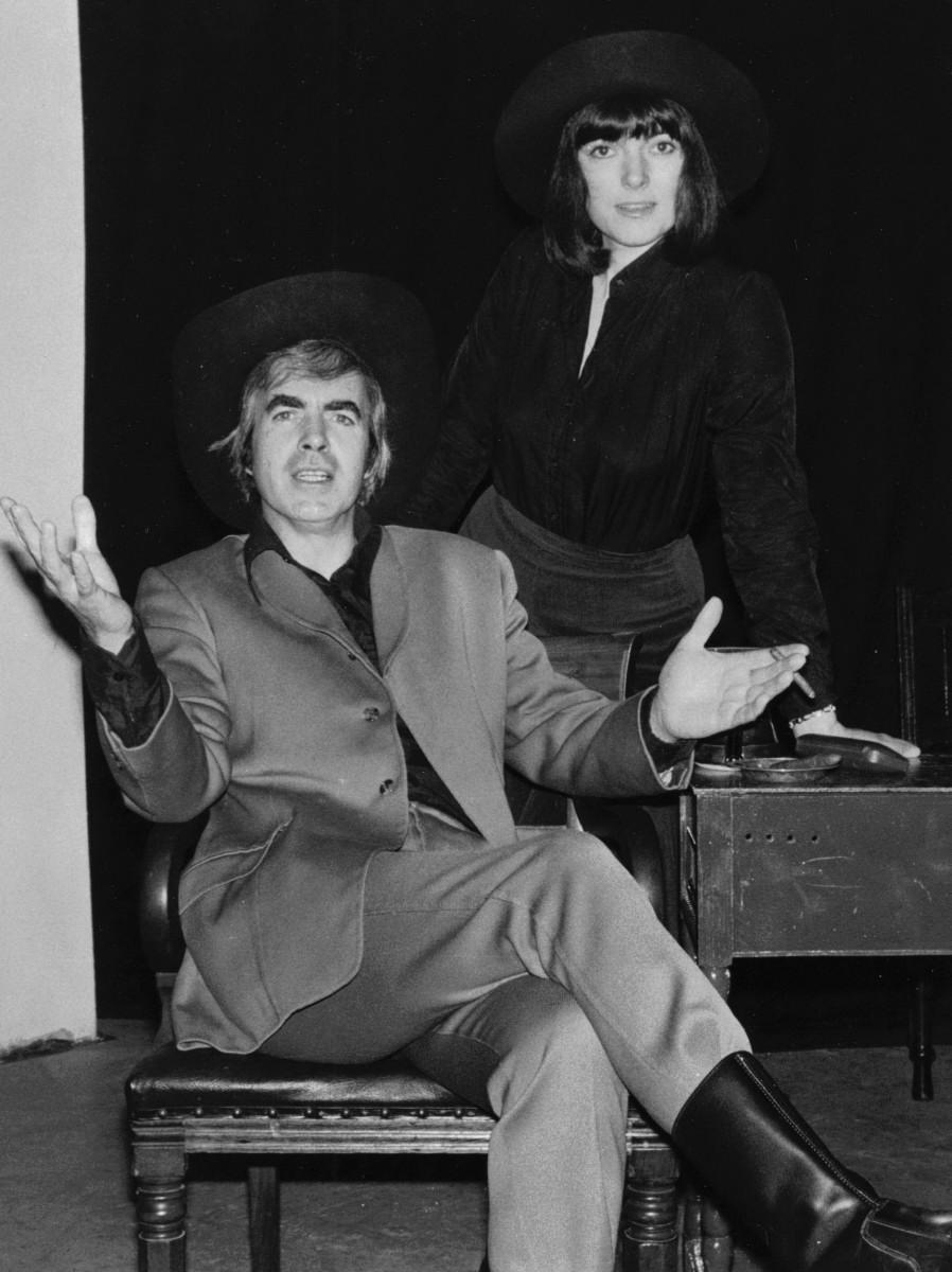 35_John Cairney & Alannah O'Sullivan in 'The Robert Service Story' Edinburgh Festival 1978.jpg