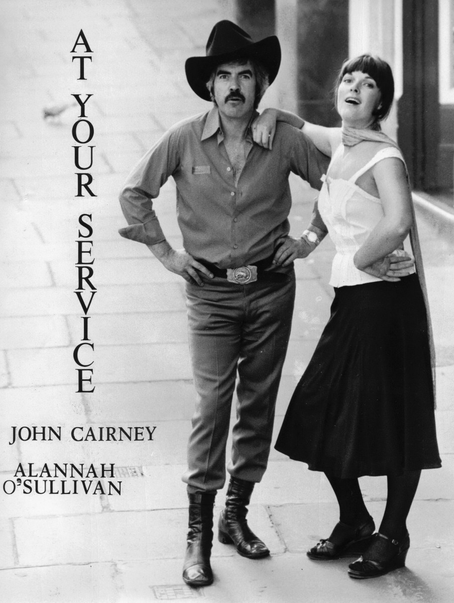 55_Publicity shot of John Cairney & Alannah O'Sullivan in 'The Robert Service Story' Edinburgh Festival 1978 (2).jpg