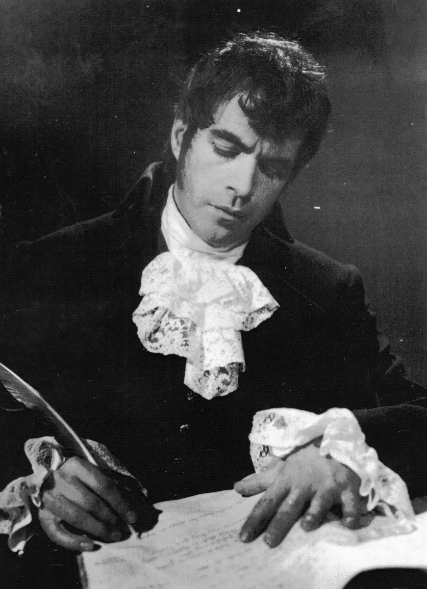 38_John Cairney as Robert Burns in 'There Was A Man' Arts Theatre, London 1965 (2).jpg
