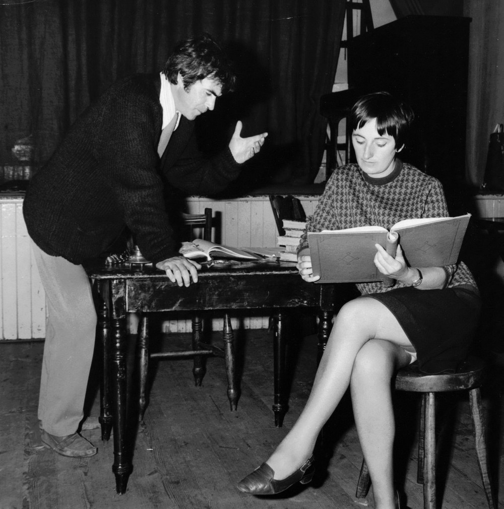 49_John Cairney in rehearsal for 'There Was A Man' Edinburgh Festival 1965.jpg