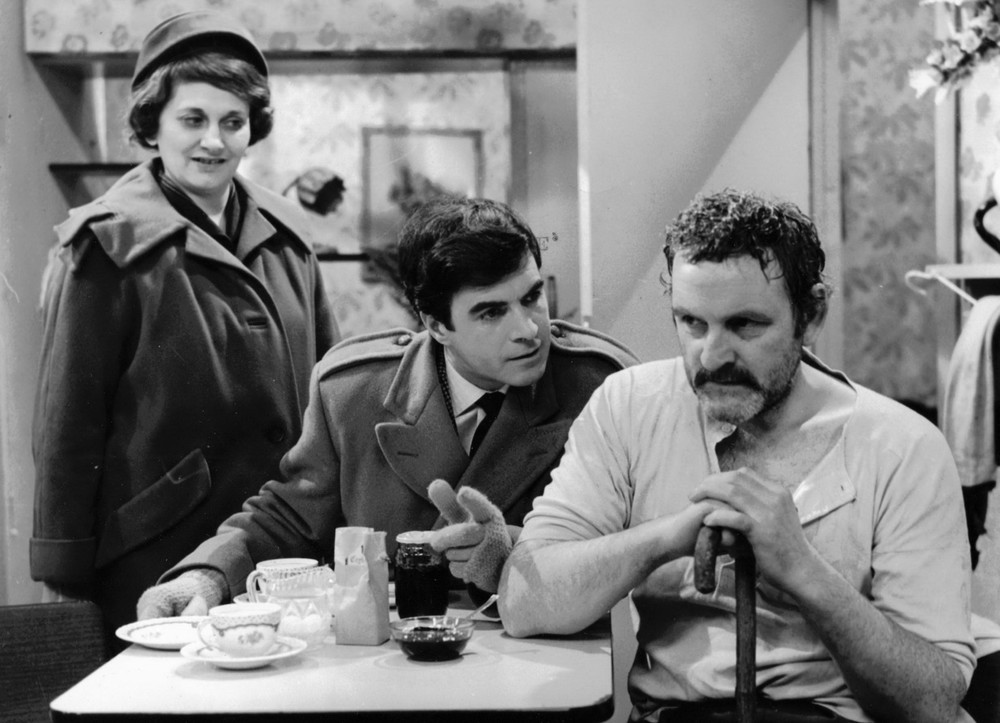 04_John Cairney as Ian Craig with Irene Sunters and Andrew Keir in 'This Man Craig' BBC Glasgow 1965.jpg
