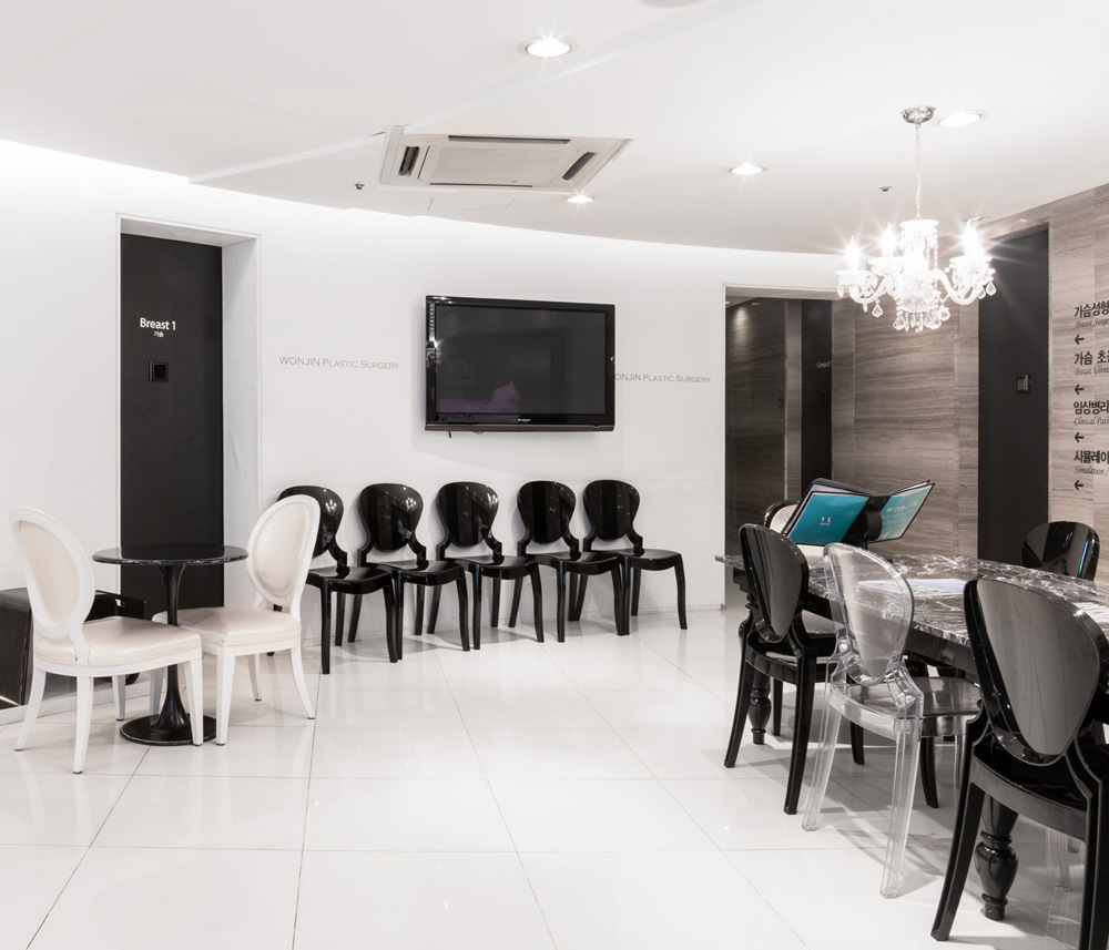 Wonjin Aesthetic Surgery ClinicWaiting Area and Consultation