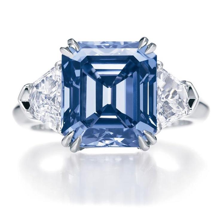 35 gorgeous blue diamonds � style estate