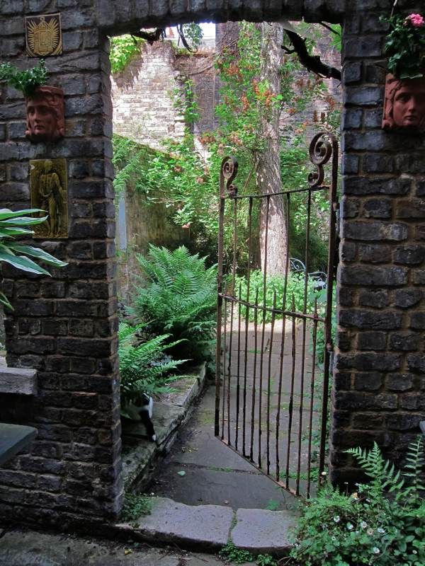 Spitalfields Gardens ~ Style Estate - 15 Gorgeous Garden Gates
