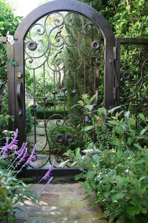 English Garden Gate ~ Style Estate  - 15 Gorgeous Garden Gates