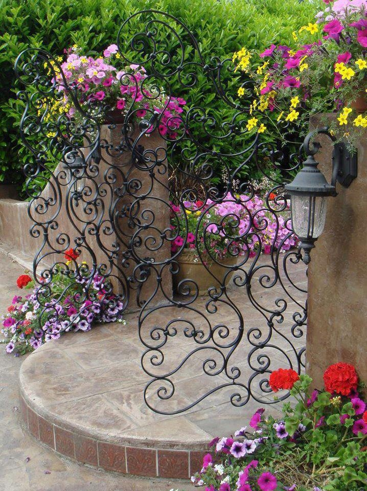 Beautiful Garden Gate by The Artful Gardener  ~ Style Estate  - 15 Gorgeous Garden Gates