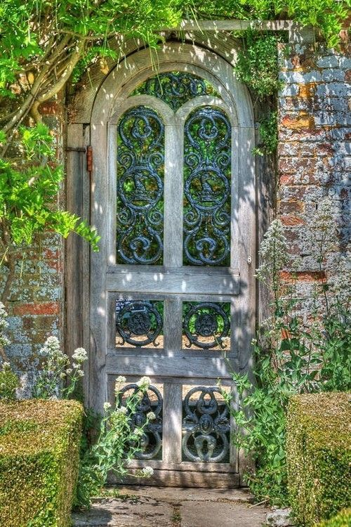 Beautiful Garden Gate ~ Style Estate - 15 Gorgeous Garden Gates