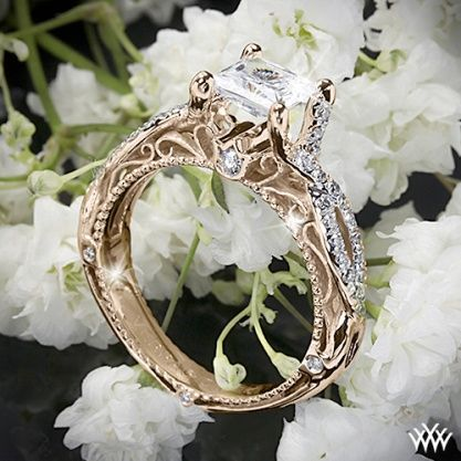 Verragio Vintage Engagement Ring   ~   How To Select The Perfect Diamond Engagement Ring - Style Estate -