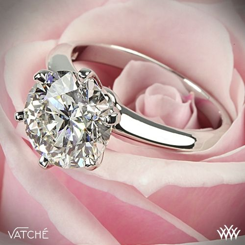 Vatche Solitaire Engagement Ring   ~   How To Select The Perfect Diamond Engagement Ring - Style Estate -