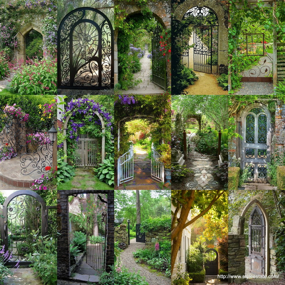 15 Gorgeous Garden Gates ~ Style Estate