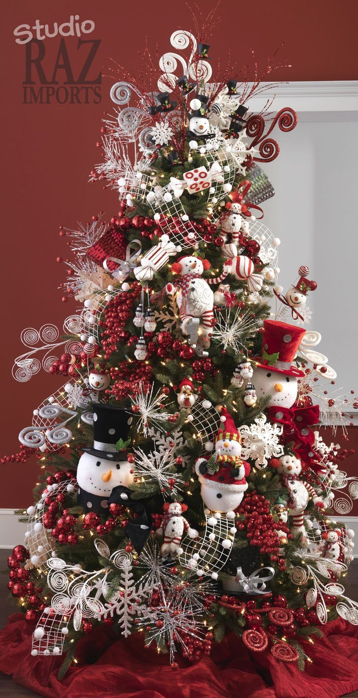 20 awesome christmas tree decorating ideas inspirations for Christmas decorations